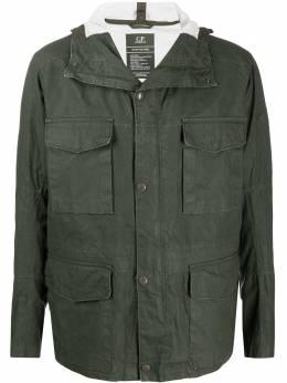 C.P. Company куртка с линзами на капюшоне 08CMOW103A005743W
