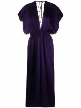 Maison Rabih Kayrouz расклешенное платье макси без рукавов USD1223