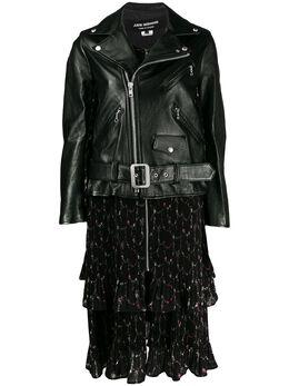 Junya Watanabe Man байкерская куртка со вставками J009051