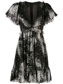 Giambattista Valli расклешенное платье с принтом 19FWPVCI551644GEP