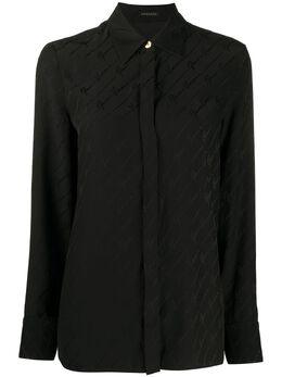 Versace рубашка с логотипом A82662A232876