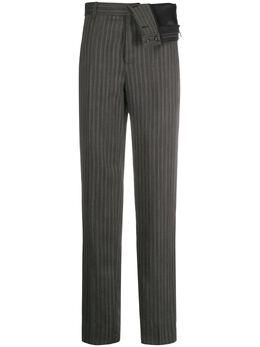 Y / Project брюки Lana в тонкую полоску PANT28S18F113