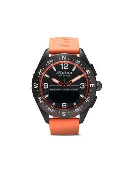 Alpina наручные часы AlpinerX Smartwatch 45 мм AL283LBO5AQ6
