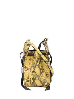 Isabel Marant сумка-ведро Radji с тиснением под змеиную кожу BF012120P008M