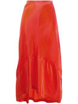 Colville фактурная юбка с асимметричным подолом CVS20412B
