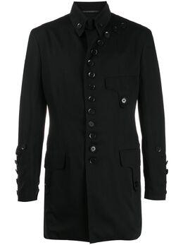 Yohji Yamamoto деконструированное пальто HNJ09200