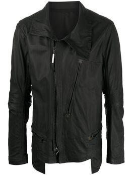 Isaac Sellam Experience байкерская куртка асимметричного кроя DETERMINE