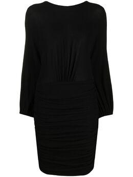Alexandre Vauthier платье со сборками 202DR1274