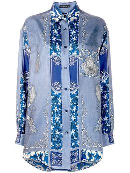 Etro рубашка с принтом 135534407
