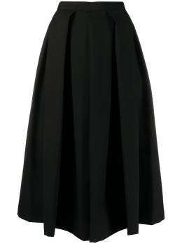 Comme Des Garcons Comme Des Garcons расклешенная юбка с завышенной талией RES015
