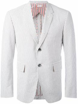 Thom Browne полосатый пиджак MJC001H00572