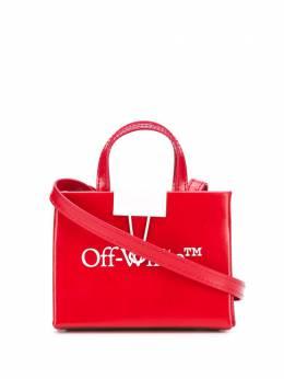Off-White сумка через плечо с логотипом OWNA106S20LEA0012501