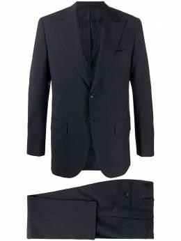Kiton строгий костюм с однобортным пиджаком UA862K06S7905000A50