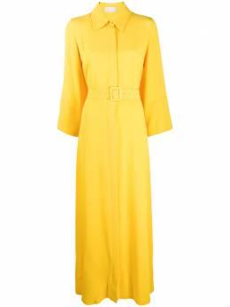 Sara Battaglia длинное платье-футболка свободного кроя SB5016305S0