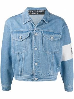 Enfants Riches Deprimes джинсовая куртка с вышитым логотипом SS20080010