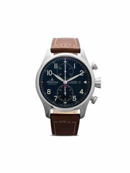 Alpina наручные часы Startimer Pilot Chronograph 44 мм AL725N4S6