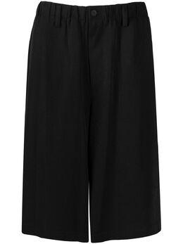 Yohji Yamamoto шорты прямого кроя HNP245002