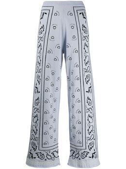 Barrie брюки широкого кроя с узором C135673