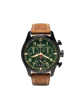 Alpina наручные часы Startimer Pilot Chronograph 44 мм AL372GR4FBS6