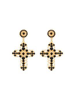 Dolce&Gabbana декорированные серьги с кристаллами WEG2S1W0001