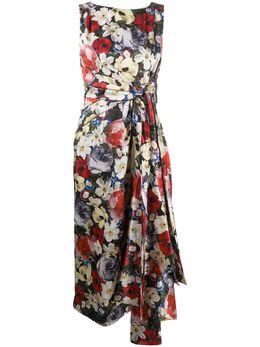 Erdem платье миди с цветочным принтом PS2021247PCSS