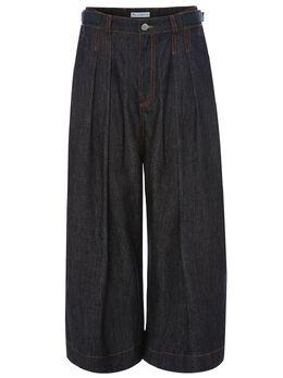 J.W. Anderson укороченные брюки со складками TR0050PG0217999
