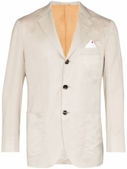 Kiton пиджак на пуговицах UG90H0726206000