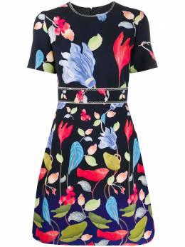 Peter Pilotto платье мини с цветочным принтом 20PSDR231023