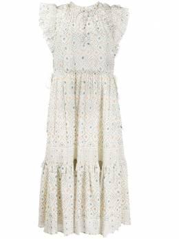 Ulla Johnson платье миди Linnea S20SP200142