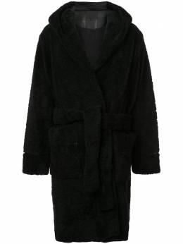 Alexander Wang пальто в стилистике халата 6W383005V8