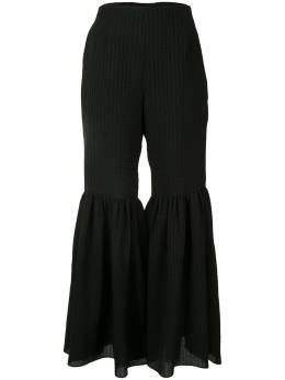 Goen.J расклешенные брюки из сирсакера GJ20SSPT03
