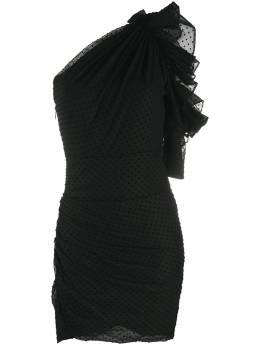 Alexandre Vauthier платье асимметричного кроя в горох 202DR12751262202