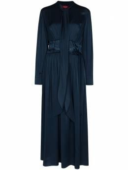 Sies Marjan платье миди Faye с поясом 16KO5276U4681