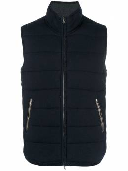 N.peal The Mall quilted gilet NPG219B