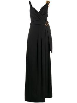 Louis Vuitton присборенное платье pre-owned LOUISVUITTON
