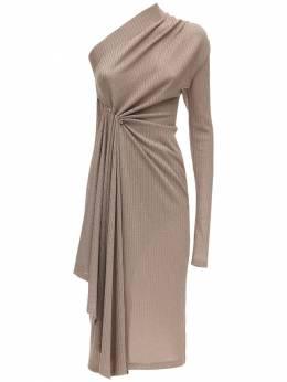 Асимметричное Платье Из Джерси Dodo Bar Or 71IDP0012-VEFVUEU1