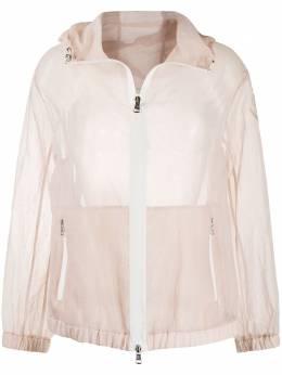 Moncler прозрачная куртка с капюшоном 1A52600C0470