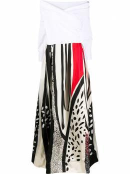 Sara Roka платье с открытыми плечами Zakira ZAKIRALONG36