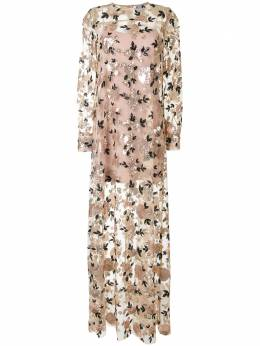 Macgraw платье макси Soiree с пайетками AV34