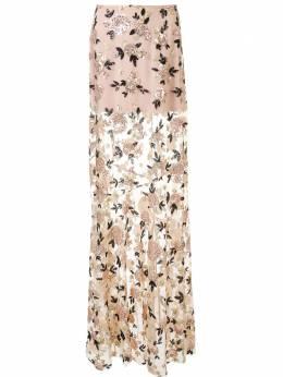 Macgraw юбка макси с цветочным декором AV32