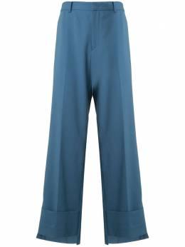 Wooyoungmi прямые брюки оверсайз W201PT02BLUE