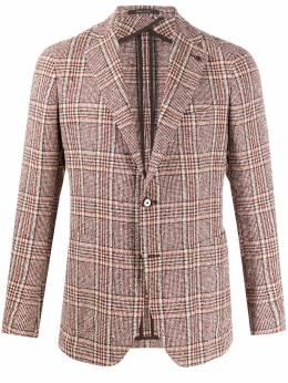 Tagliatore однобортный пиджак узкого кроя 1SMC22K85QEG055