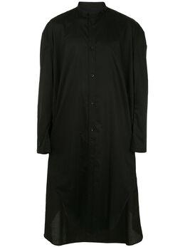 Julius длинная рубашка с принтом на спине 697SHM1P