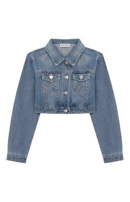 Укороченная куртка из денима Chiara Ferragni 20PE-CFKJSH003