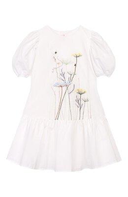 Хлопковое платье Il Gufo P20VM546C0048/2A-4A