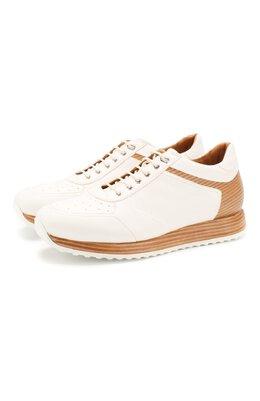 Кожаные кроссовки W. Gibbs 8491001/1672