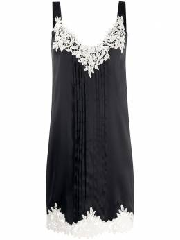 Blumarine платье-трапеция в технике кроше 20114