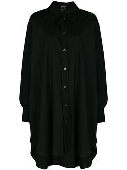 Ann Demeulemeester платье-рубашка оверсайз 20013608125