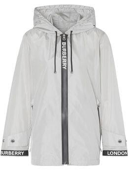 Burberry куртка с логотипом из коллаборации с Econyl 8027531