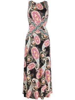 Etro платье с принтом пейсли 137794468